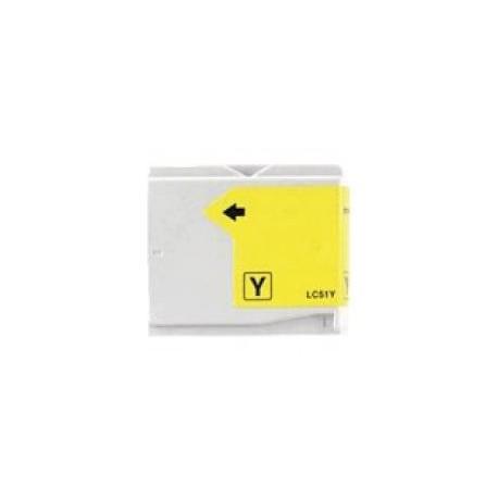 Cartucho  De Tinta Compatible BROTHER LC-970 amarillo LC970Y