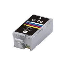 Cartucho  De Tinta Compatible CANON CLI36 3 colores 1511B001