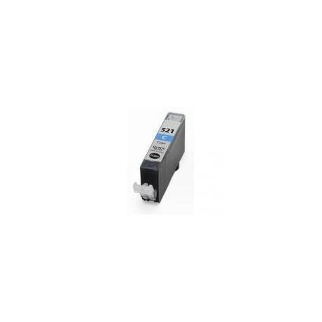 Cartucho  De Tinta Compatible CANON CLI521 cian 2934B001