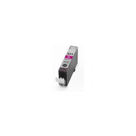 Cartucho  De Tinta Compatible CANON CLI521 magenta 2935B001