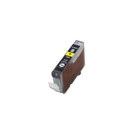 Cartucho  De Tinta Compatible CANON CLI8 amarillo 0623B001