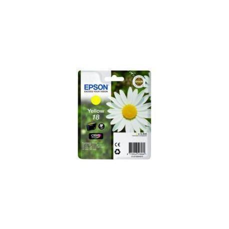 Cartucho De Tinta Original EPSON T1804 amarillo C13T18044010