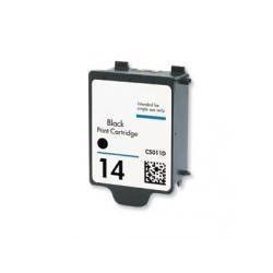 Cartucho  De Tinta Compatible HP 14 negro C5011DE