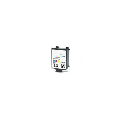 Cartucho  De Tinta Compatible HP 14 3 colores C5010DE