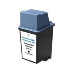 Cartucho  De Tinta Compatible HP HP 20 negro C6614DE