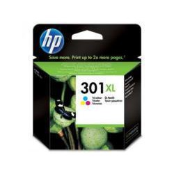 Cartucho De Tinta Original HP 301XL 3 colores CH564EE