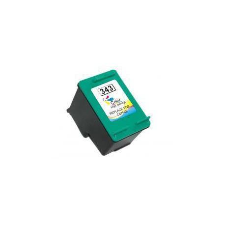 Cartucho  De Tinta Compatible HP 343 3 colores C8766EE
