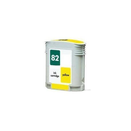 Cartucho  De Tinta Compatible HP 82 amarillo C4913A