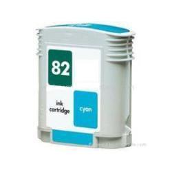 Cartucho  De Tinta Compatible HP 82 cian C4911A