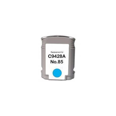 Cartucho  De Tinta Compatible HP 85 cian claro C9428A