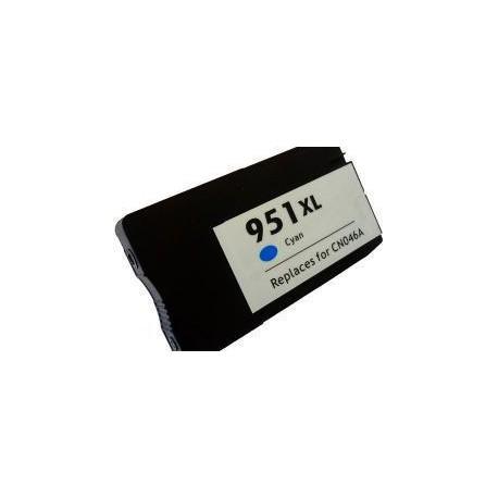 Cartucho  De Tinta Compatible HP 951XL cian CN046AE