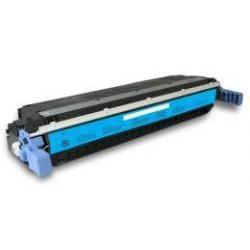 Toner Compatible HP 645A cian C9731A