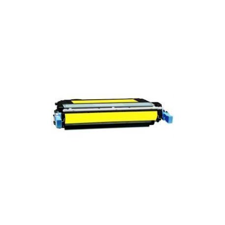 Toner Compatible HP 642A amarillo CB402A