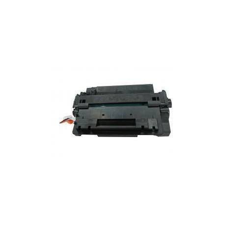 Toner Compatible HP 55X negro CE255X