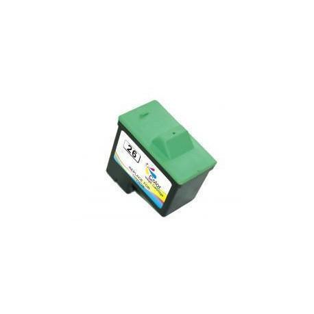 Cartucho  De Tinta Compatible LEXMARK 26 3 colores 10N0026E
