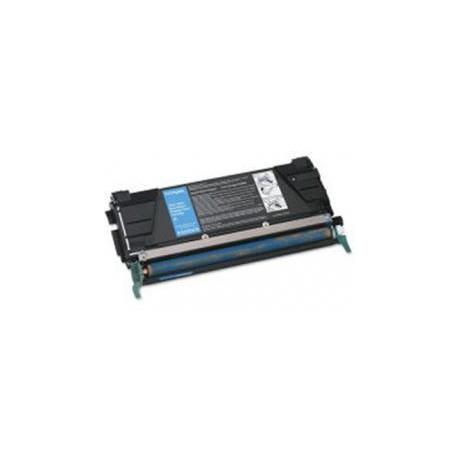 Toner Compatible LEXMARK C522 cian C5220CS