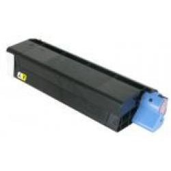 Toner Compatible OKI C5100 amarillo 42127405