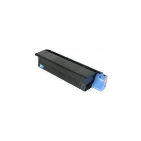 Toner Compatible OKI C5100 cian 42127407