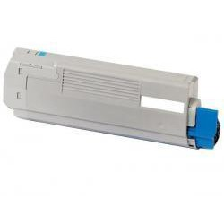Toner Compatible OKI C5600 cian 43381907