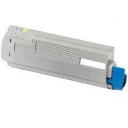 Toner Compatible OKI C5650 amarillo 43872305