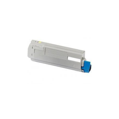 Toner Compatible OKI C5850 amarillo 43865721