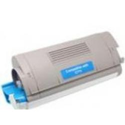 Toner Compatible OKI C710 cian 44318607