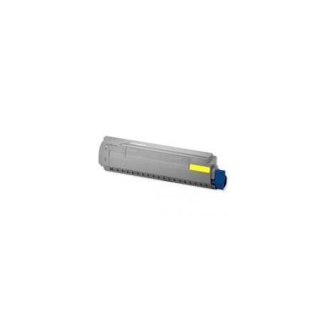 Toner Compatible OKI C810 amarillo 44059105
