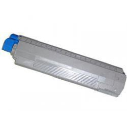 Toner Compatible OKI C8600 amarillo 43487709