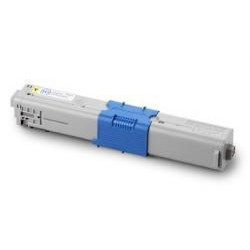 Toner Compatible OKI C301 amarillo 44973533