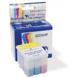 Cartucho  De Tinta Compatible EPSON S020049 3 colores S020049