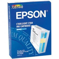 Cartucho  De Tinta Compatible EPSON S020147 cian claro S020147