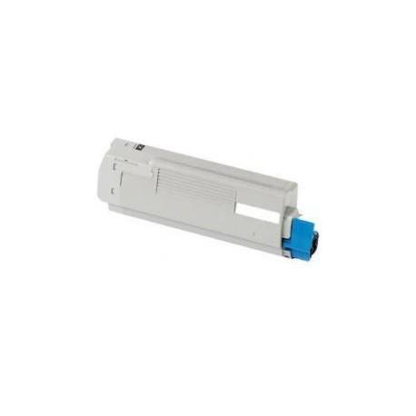 Toner Compatible OKI C801DN cian 44643003
