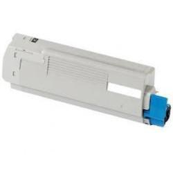 Toner Compatible OKI C801DN amarillo 44643001