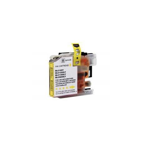 Cartucho  De Tinta Compatible BROTHER LC-125 amarillo LC125XLY