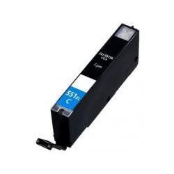 Cartucho  De Tinta Compatible CANON CLI551XL cian 6444B001