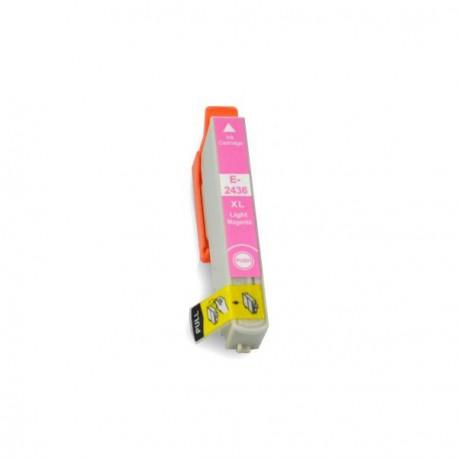 Cartucho  De Tinta Compatible EPSON T2436 magenta claro C13T24364010