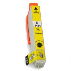 Cartucho  De Tinta Compatible EPSON T2434 amarillo C13T24344010