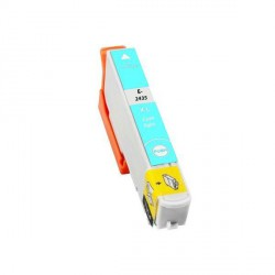 Cartucho  De Tinta Compatible EPSON T2435 cian claro C13T24354010