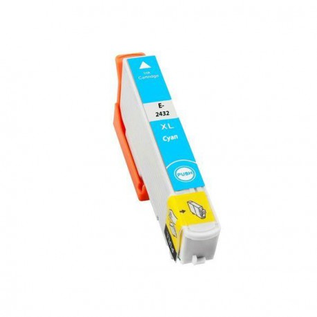 Cartucho  De Tinta Compatible EPSON T2432 cian C13T24324010
