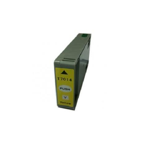 Toner Compatible EPSON T7014 amarillo C13T70144010