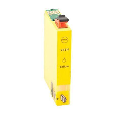 Cartucho  De Tinta Compatible EPSON T2634 amarillo C13T26344010
