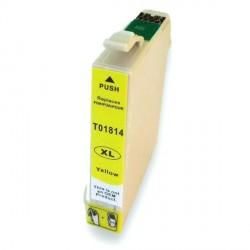 Cartucho  De Tinta Compatible EPSON T1814 amarillo C13T18144010