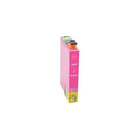 Cartucho  De Tinta Compatible EPSON T2633 magenta C13T26334010