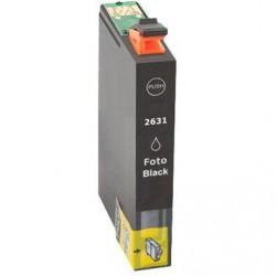 Cartucho  De Tinta Compatible EPSON T2631 negro C13T26314010