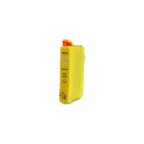 Cartucho  De Tinta Compatible EPSON T1634 amarillo C13T16344010