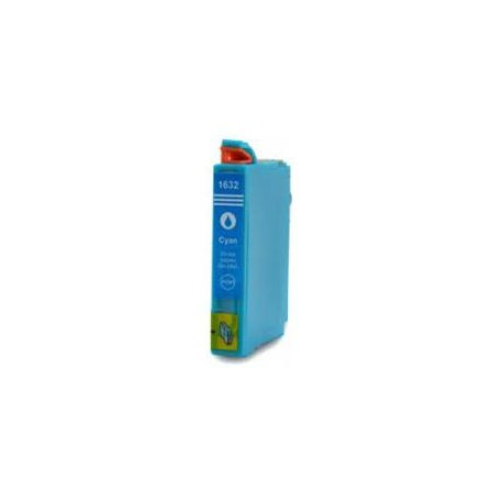 Cartucho De Tinta Compatible EPSON T1632 cian C13T16324010