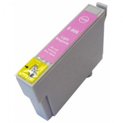 Cartucho De Tinta Compatible EPSON T0806 magenta claro C13T08064010