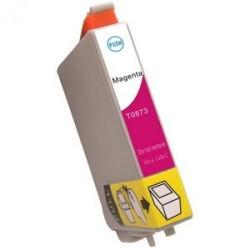 Cartucho  De Tinta Compatible EPSON T0873 magenta C13T08734010