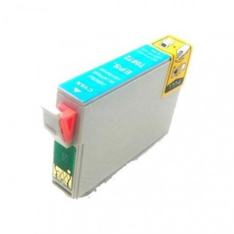 Cartucho  De Tinta Compatible EPSON T0872 cian C13T08724010