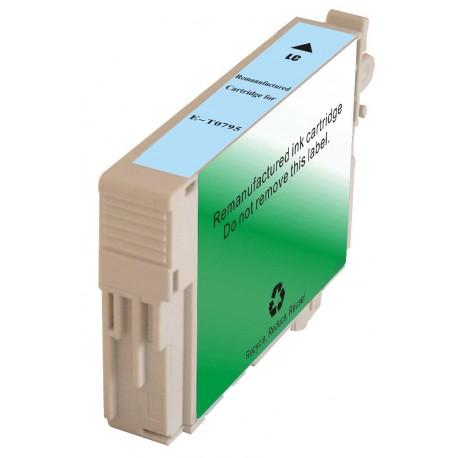 Cartucho De Tinta Compatible EPSON T0795 cian claro C13T07954010